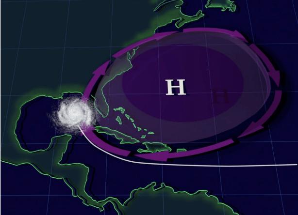Stalling Hurricanes Wreak Havoc