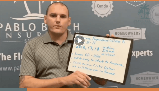 Whiteboard Wednesday | Hurricane Preparedness Week